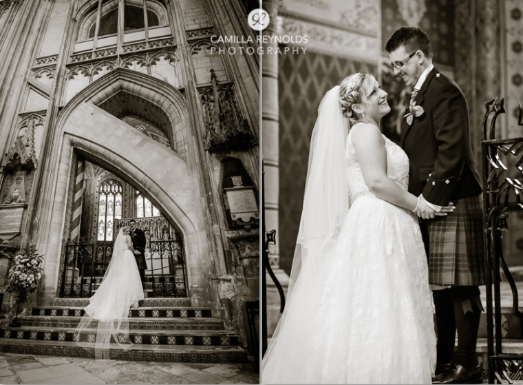 stunning wedding photography Cotswolds Gloucester Cathedral