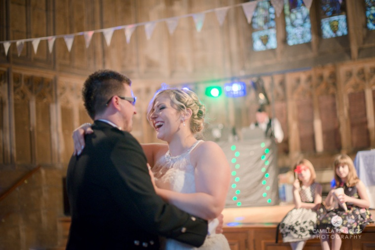 First dance gloucester cathedral natural wedding photography
