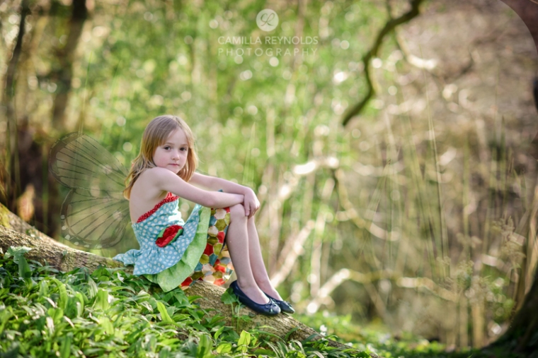 creative children photography fairy girl Cotswolds