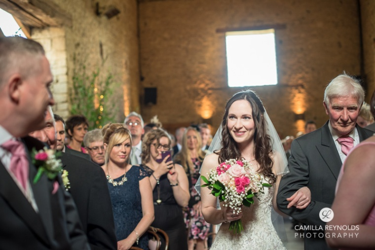 civil ceremony Cripps barn  Cotwold wedding venues