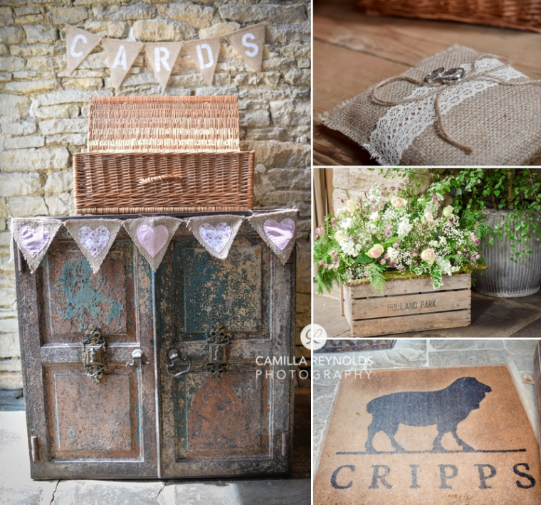Cripps barn  Cotwold vintage wedding photography shabby chic