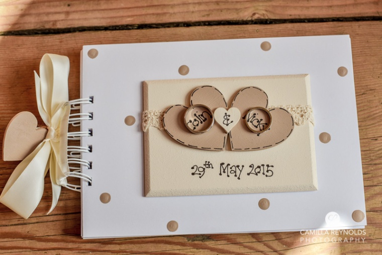 Cotswold wedding stationary rings