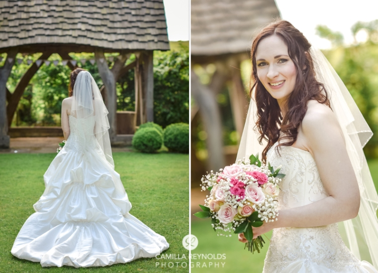 bride wedding dress Cripps barn photography