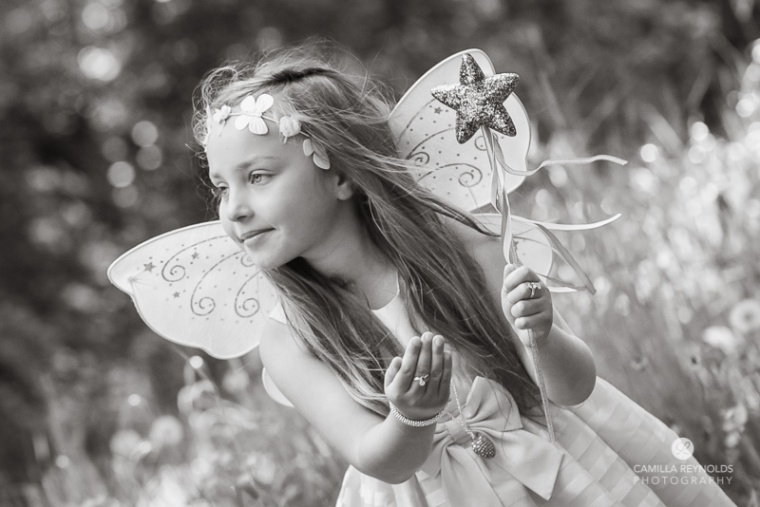 fairy girl children photo shoot Gloucestershire Cotswolds