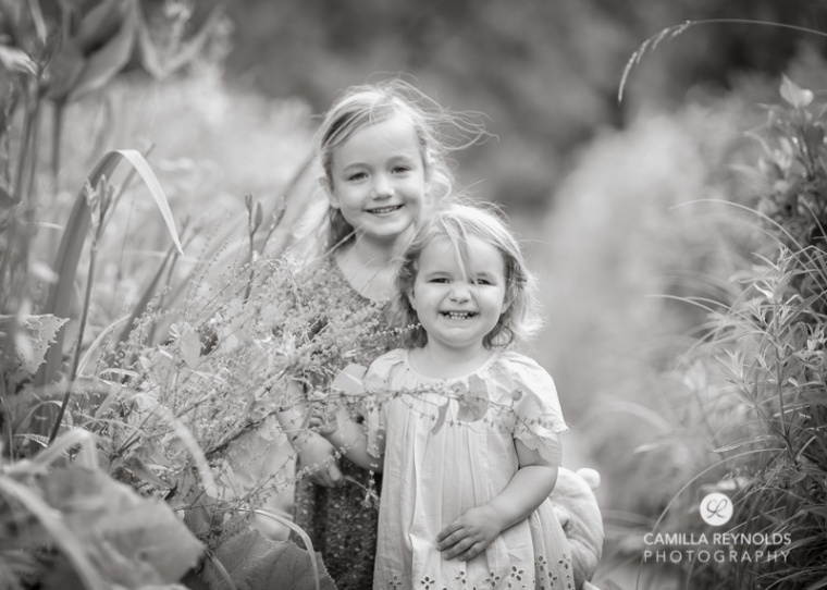 sibling sisters children photo shoot Gloucestershire Cotswolds