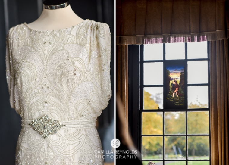 whire roon wedding dress elmore court weddings photography