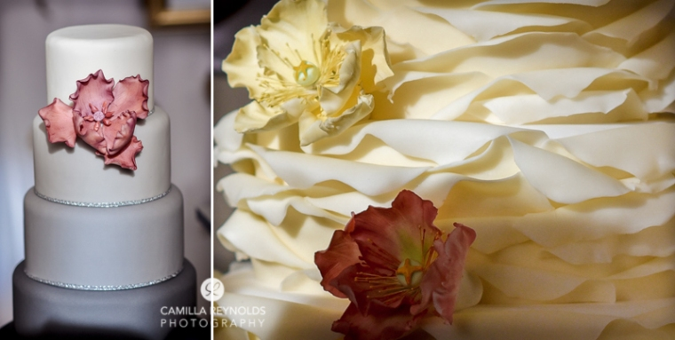 wedding cake elmore court  photographers