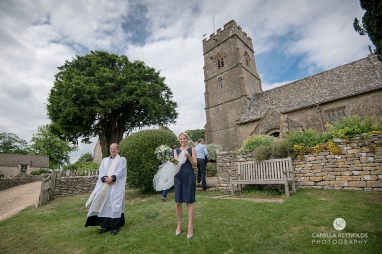 Cotswold church wedding Gloucestershire photographer
