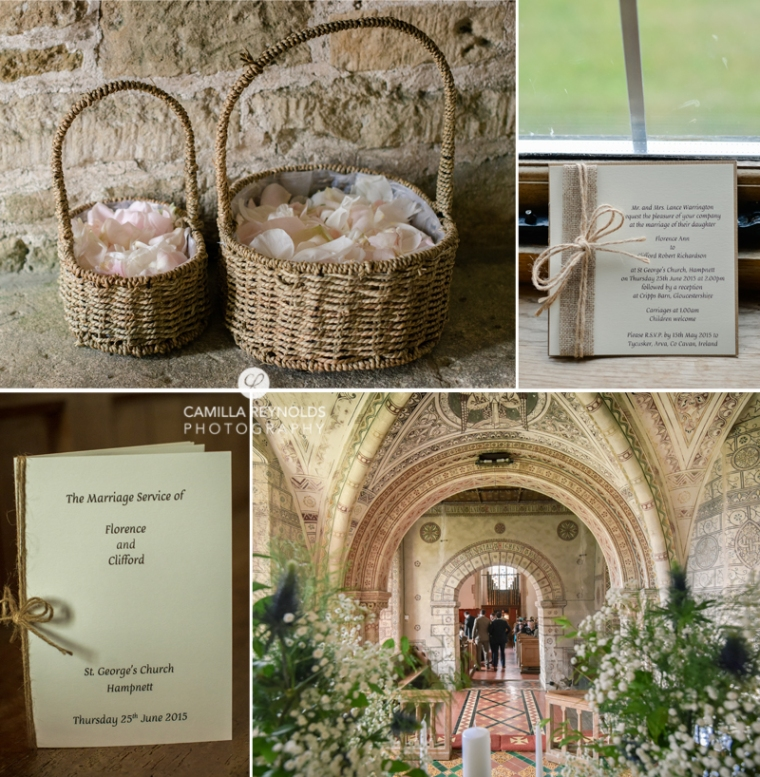 Cotswold church wedding Gloucestershire