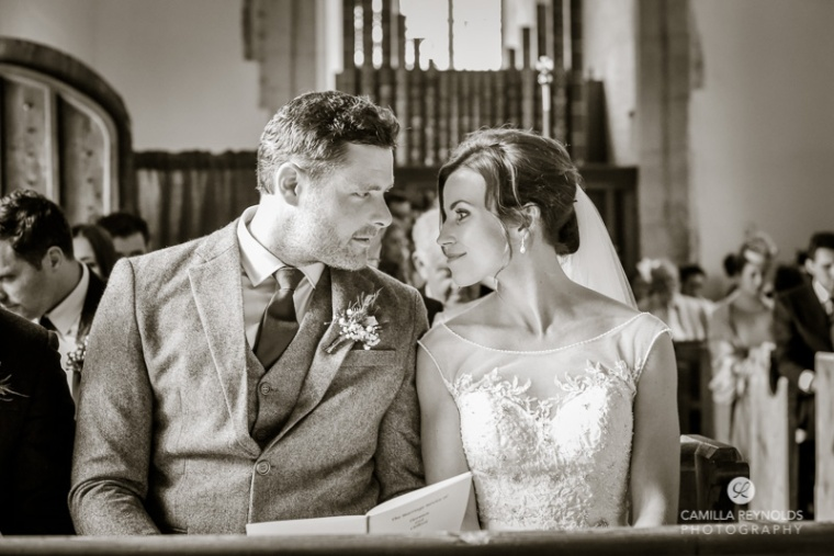 Hampnett church wedding photography Cotswolds Gloucestershire