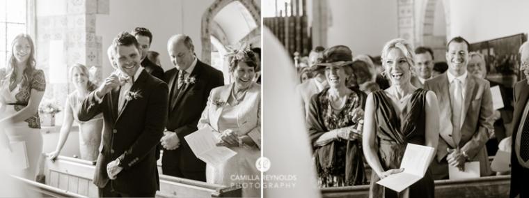 Hampnett church wedding Cotwolds Gloucestershire