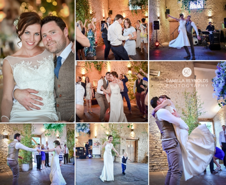 first dance Cripps Barn wedding photography Cotswolds