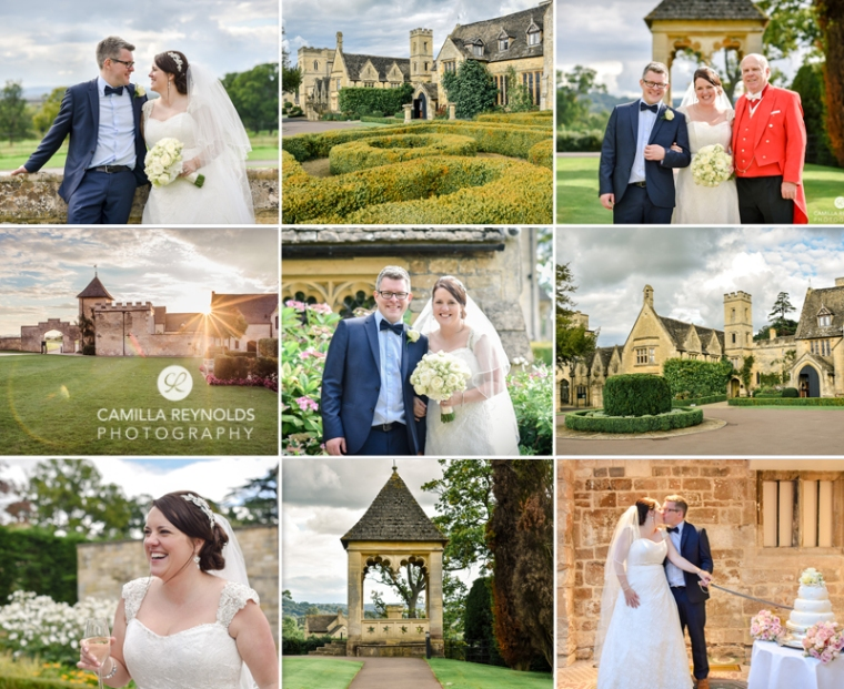 ellenborough park wedding photography cotswolds