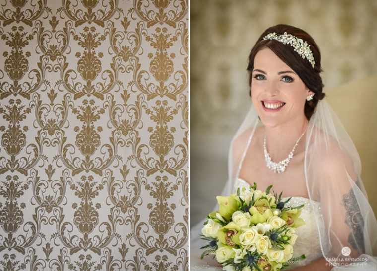 Cotswold wedding Eastington park bridal make up