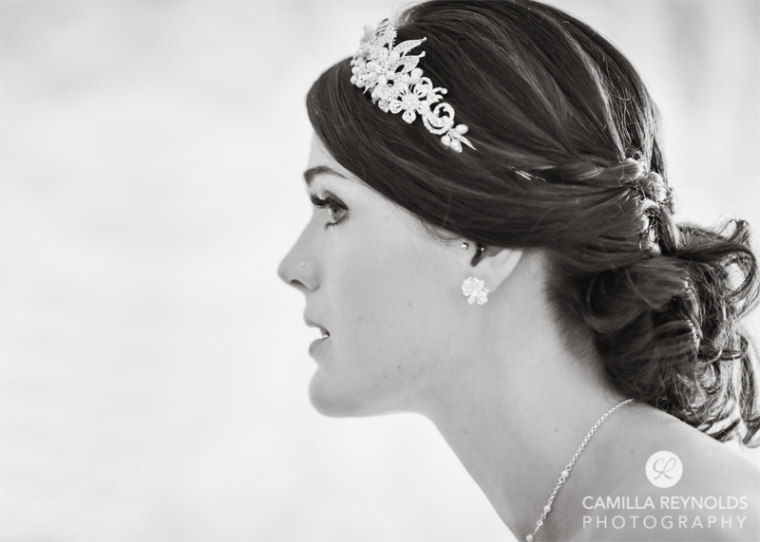 bridal make up Cotswold wedding Eastington park