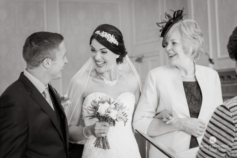 wedding photographer Cotswold wedding Eastington park
