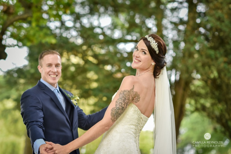 Cotswold wedding Eastington park creative photography