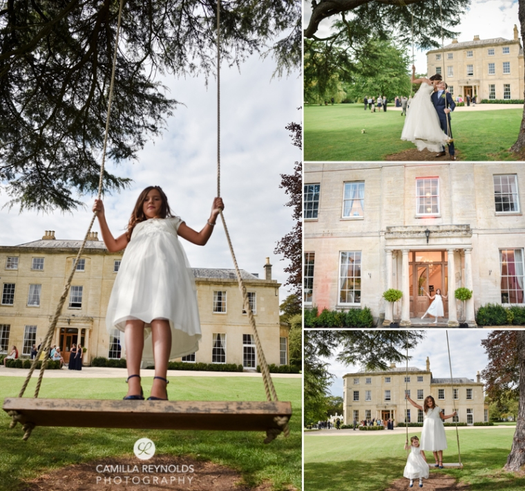 fun wedding photography Eastington park