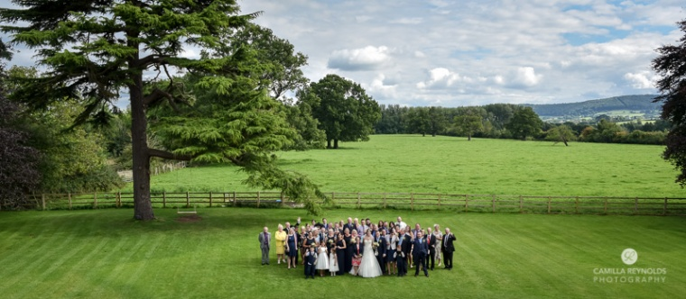 Cotswold wedding Eastington park countryside weddings