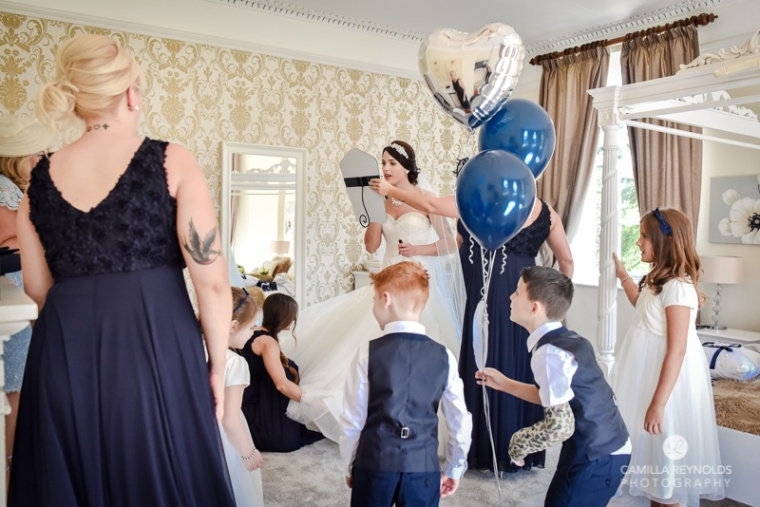 Cotswold wedding Eastington park documentary photograher