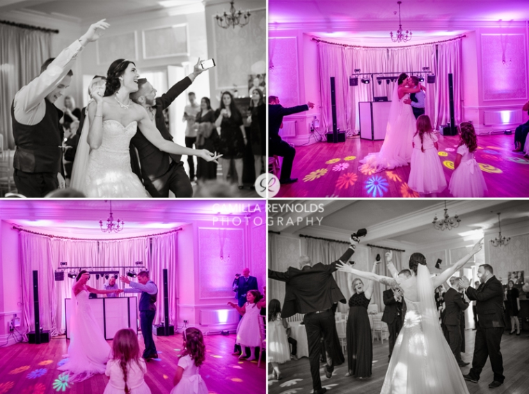 first dance natural wedding photography Eastington park