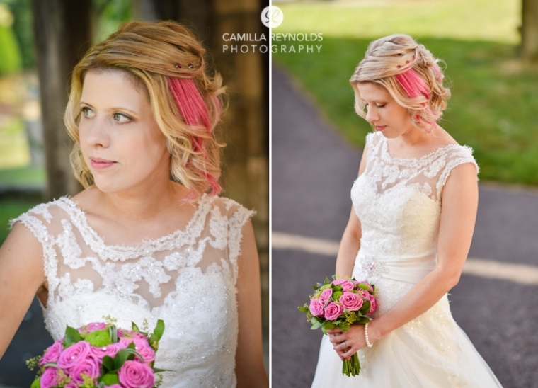 Romantica of Devon dress Cotswold wedding photography