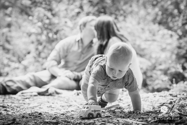 baby family photo shoot Gloucestershire