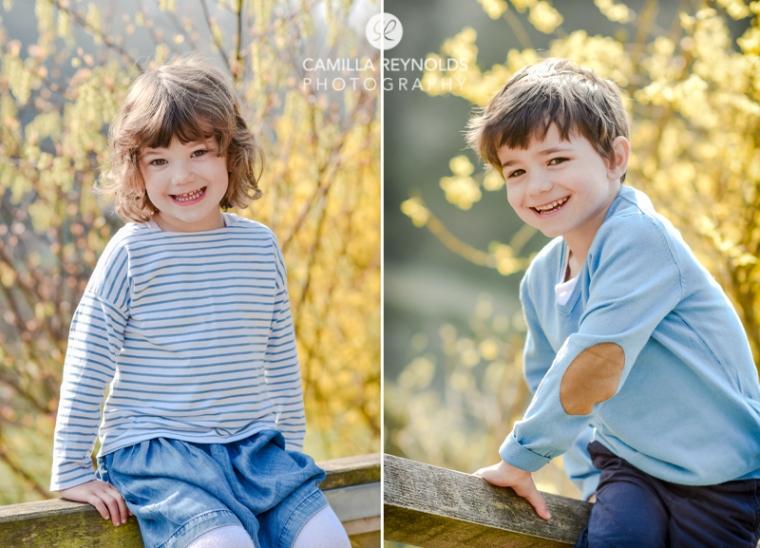 children spring photo shoot Gloucestershire