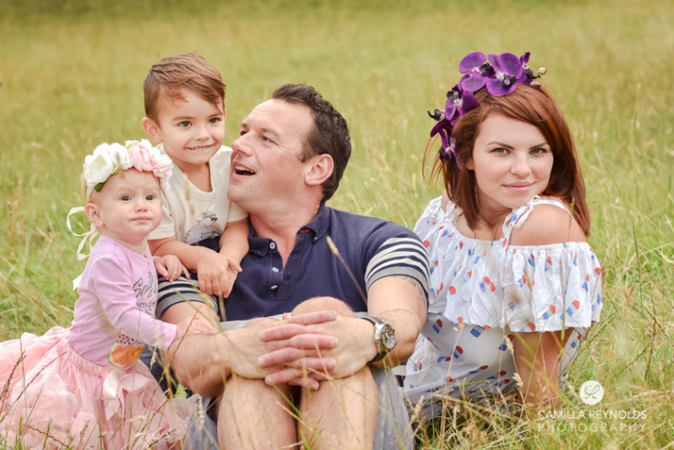 family photo session Gloucestershire