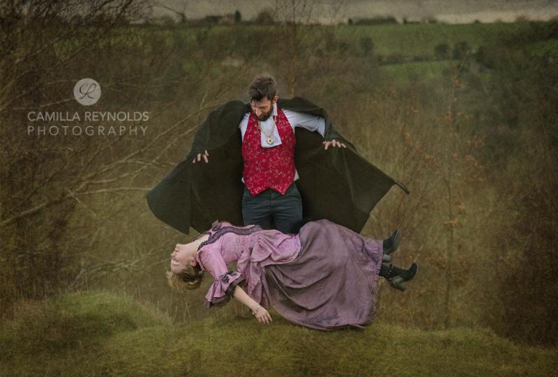 alternative engagement wedding photography