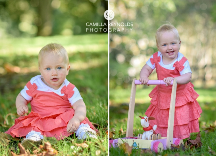 natural baby outdoor photoshoot