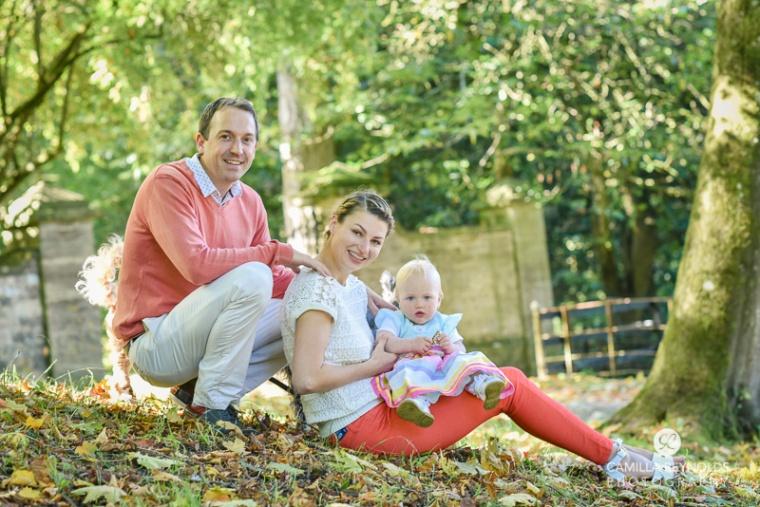 putdoor family photo shoot Cotswolds