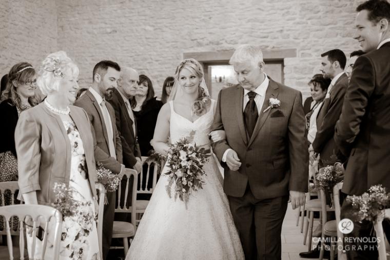 Kingscote Barn wedding photography Cotswolds (14)