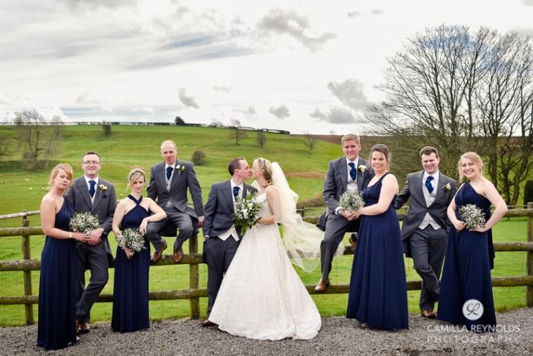 Kingscote Barn wedding photography Cotswolds (20)