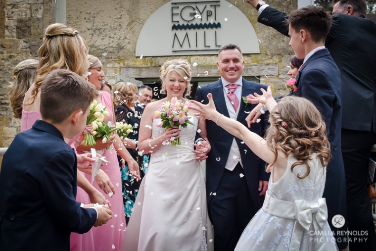 Egypt Mill beautiful wedding photography Cotswolds