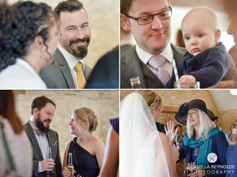 Kingscote barn wedding photography Cotswolds (32)
