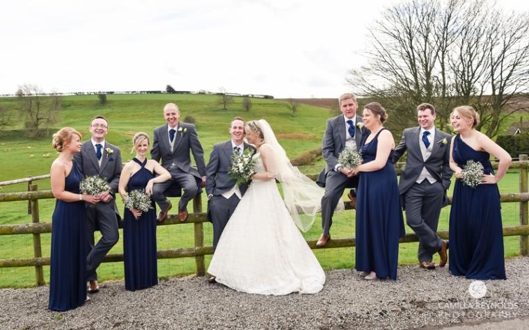 Kingscote barn wedding photography Cotswolds (34)