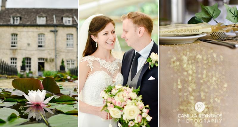 Cotswold wedding the Rectory hotel Malmesbury Wiltshire