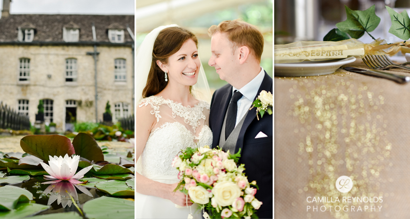 Cotswold wedding the Rectory hotel Malmesbury Wiltshire