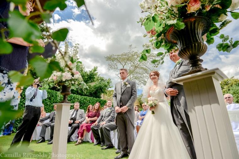 outdoor wedding Cotswolds
