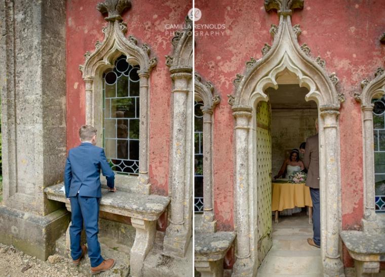 Rococo garden wedding Painswick (18)