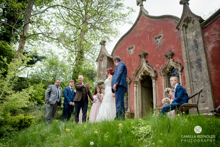 Rococo garden wedding Painswick (19)
