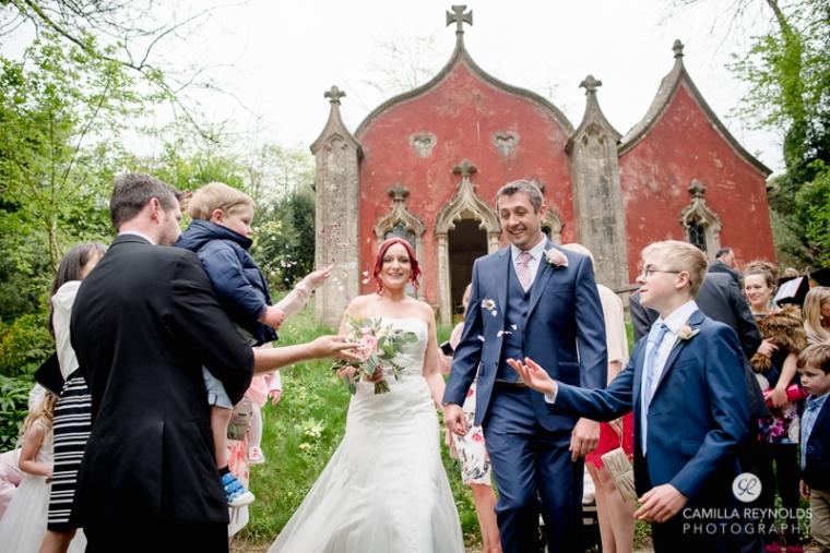 Rococo garden wedding Painswick (20)
