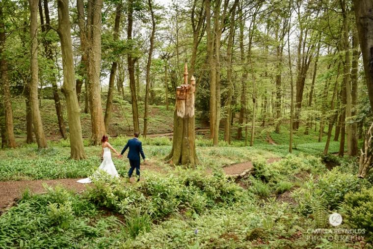 Rococo garden wedding Painswick (32)