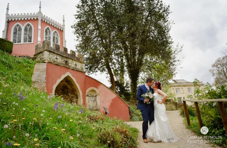 Rococo garden wedding Painswick (34)