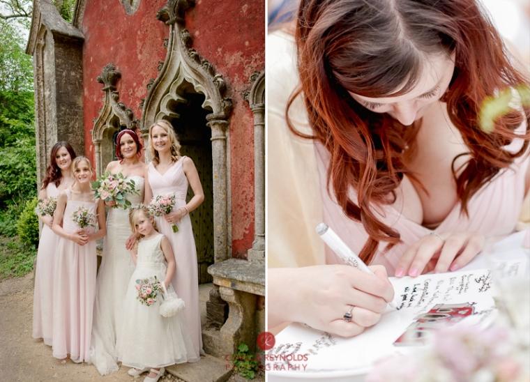 Rococo garden wedding Painswick (36)