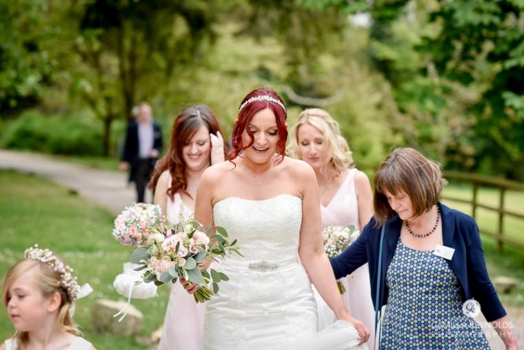 Rococo garden wedding Painswick (9)