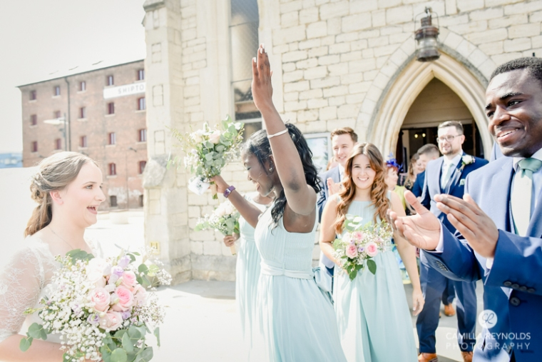 Gloucester docks wedding photography Mariners church (14)