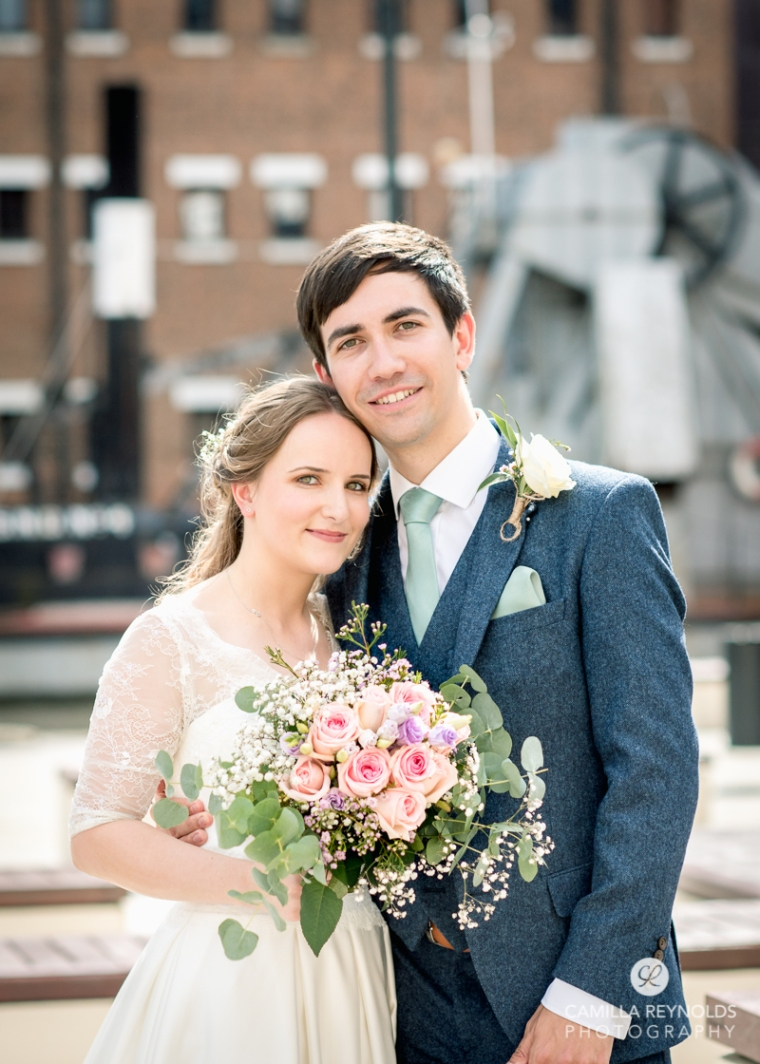 Gloucester docks wedding photography Mariners church (19)