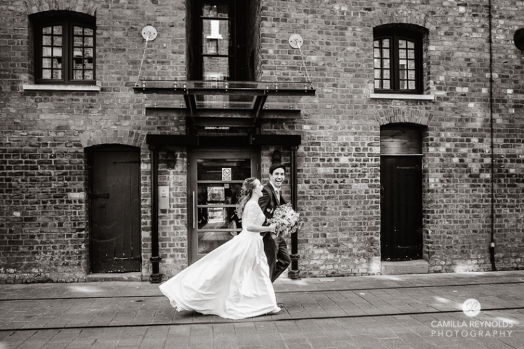 Gloucester docks wedding photography Mariners church (20)